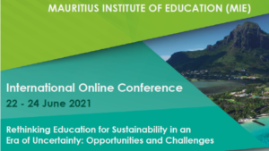 EEASA Rethinking Education for Sustainability in an Era of Uncertainty: Opportunities and Challenges @ Online Event
